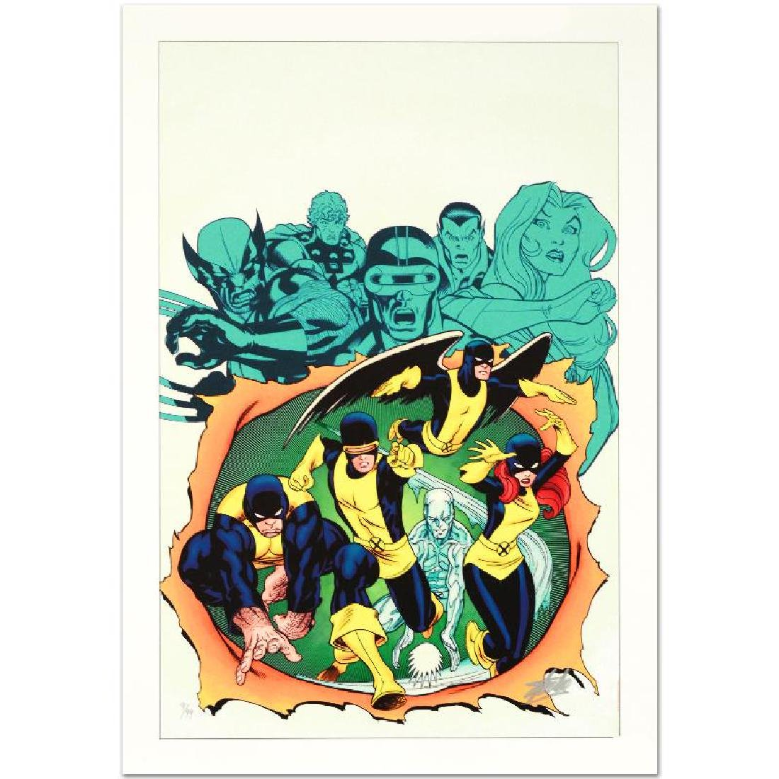 """X-Men Giant-Size #1"" Limited Edition Giclee on Canvas - 3"