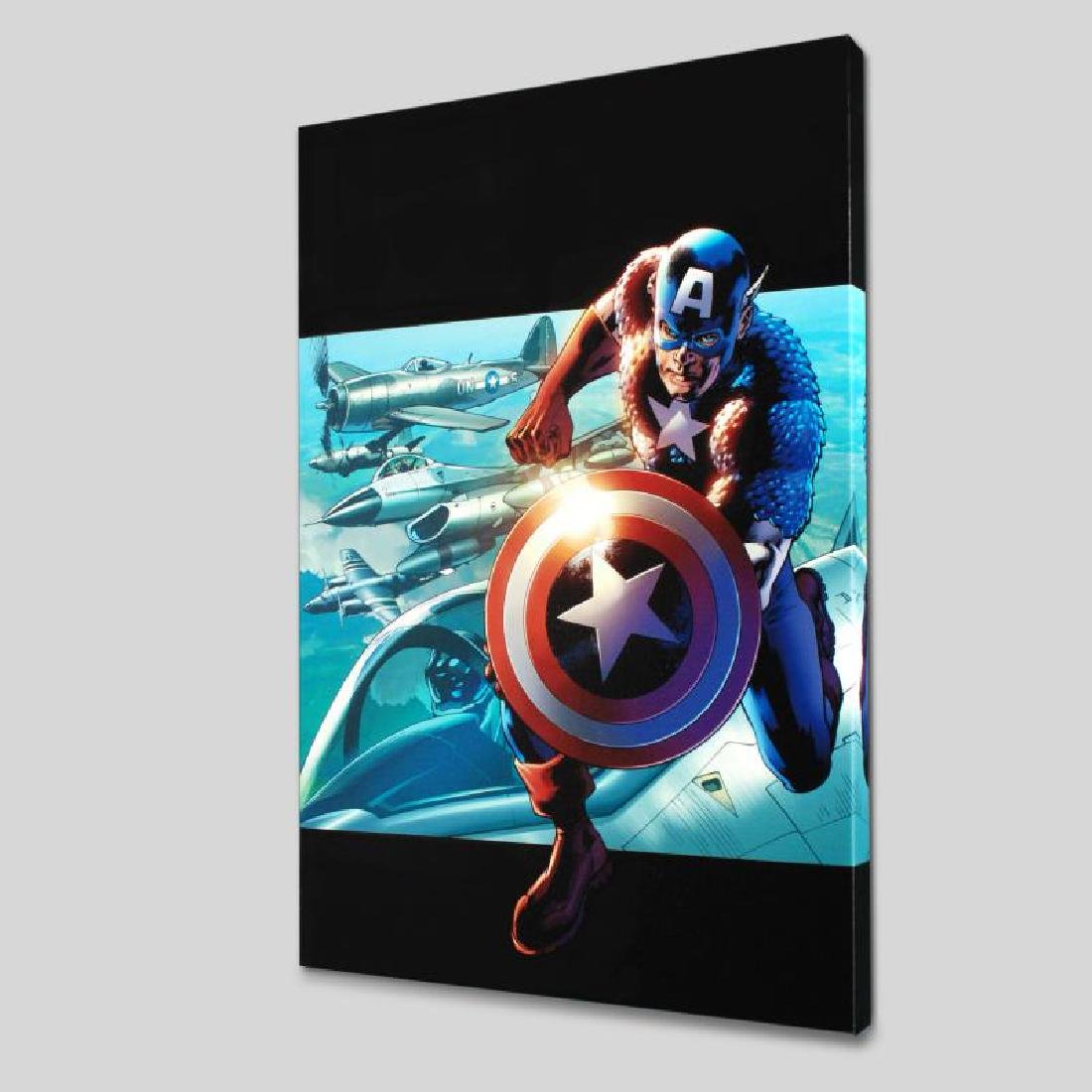 """Captain America: Man Out Of Time #2"" LIMITED EDITION"