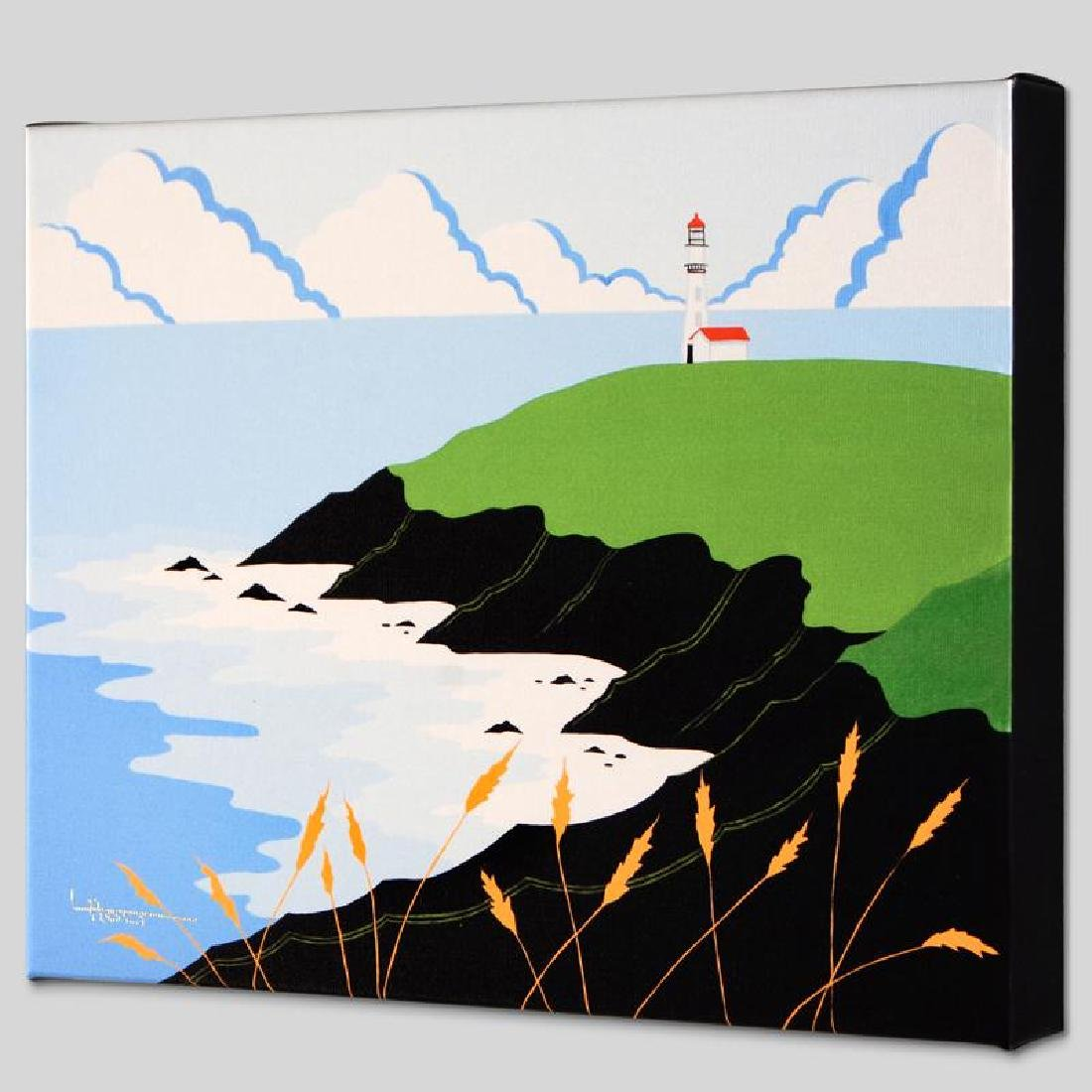 """Fisherman's Lighthouse"" Limited Edition Giclee on"