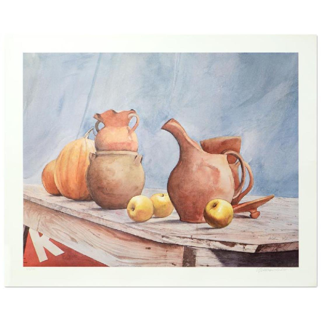 "William Nelson - ""Pottery Still Life"" Limited Edition"