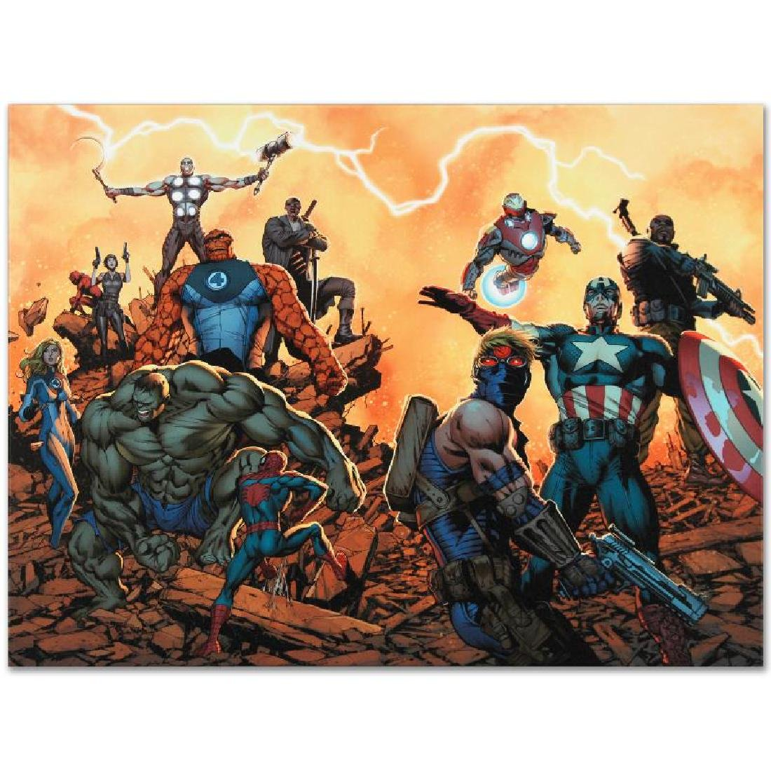 """Ultimate Comics: Avengers #1"" LIMITED EDITION Giclee - 2"