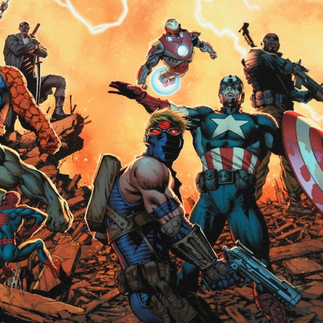"""Ultimate Comics: Avengers #1"" LIMITED EDITION Giclee - 3"