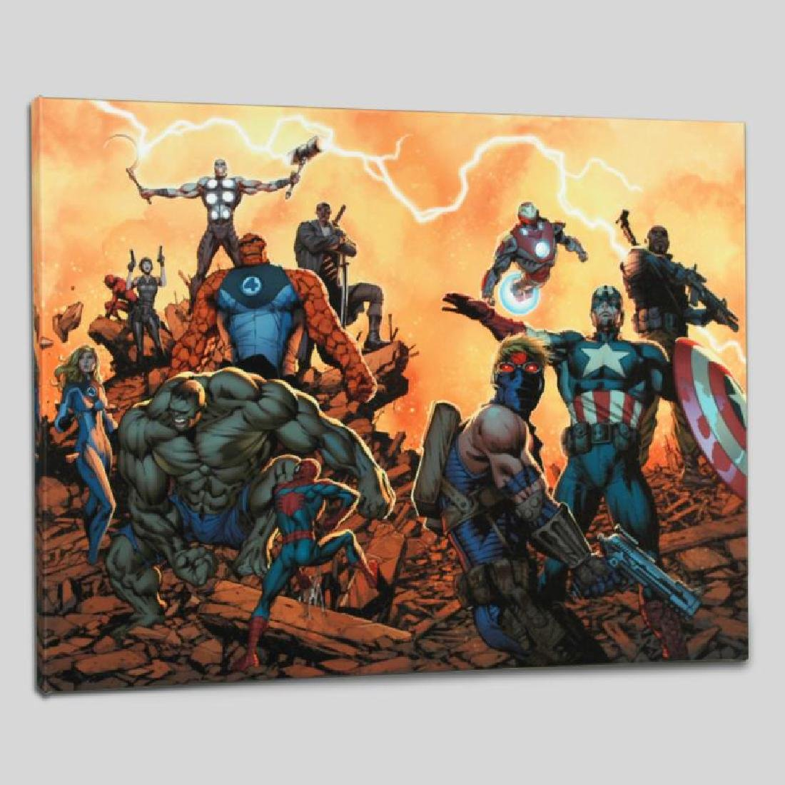 """Ultimate Comics: Avengers #1"" LIMITED EDITION Giclee - 4"
