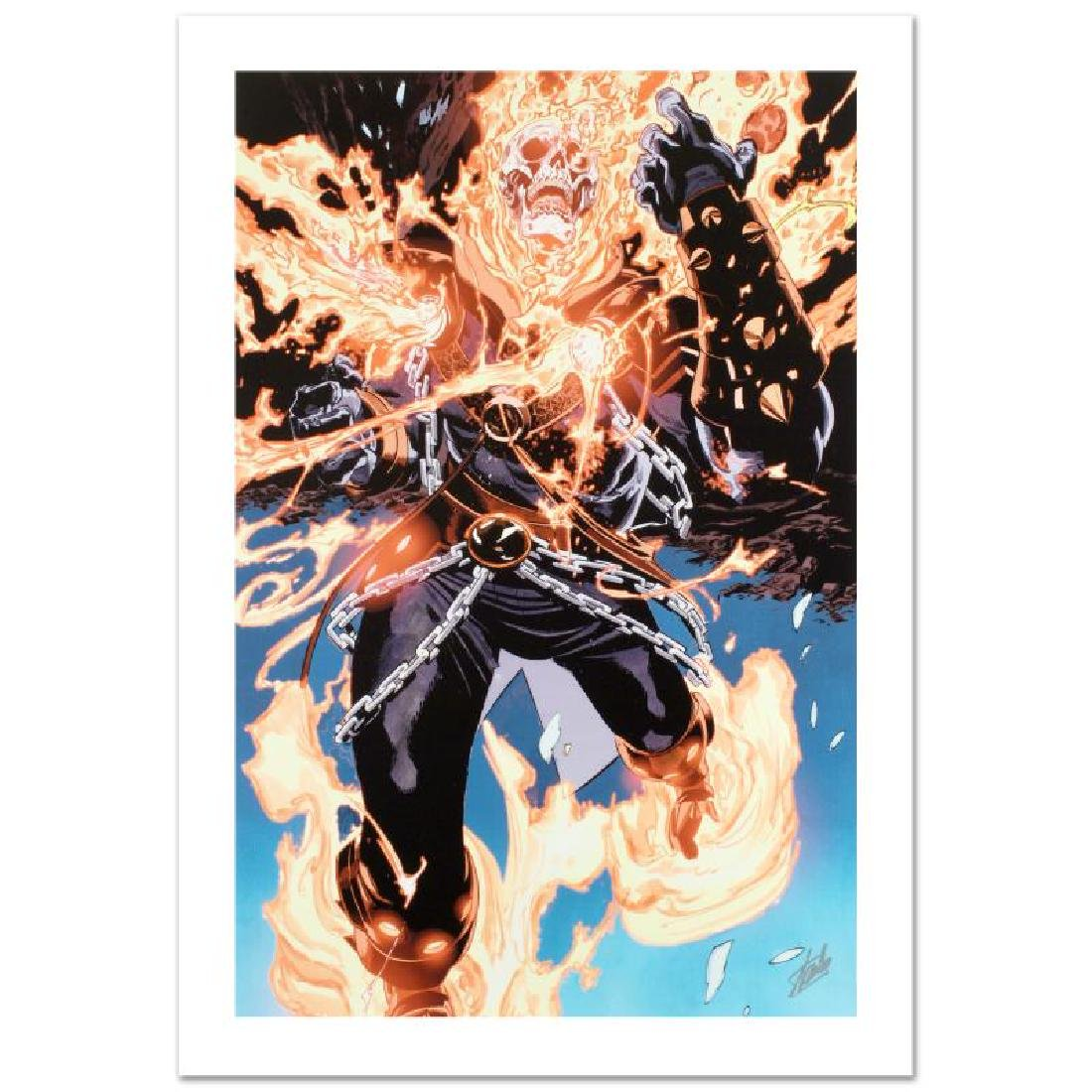 """Ghost Rider #28"" Limited Edition Giclee on Canvas by"