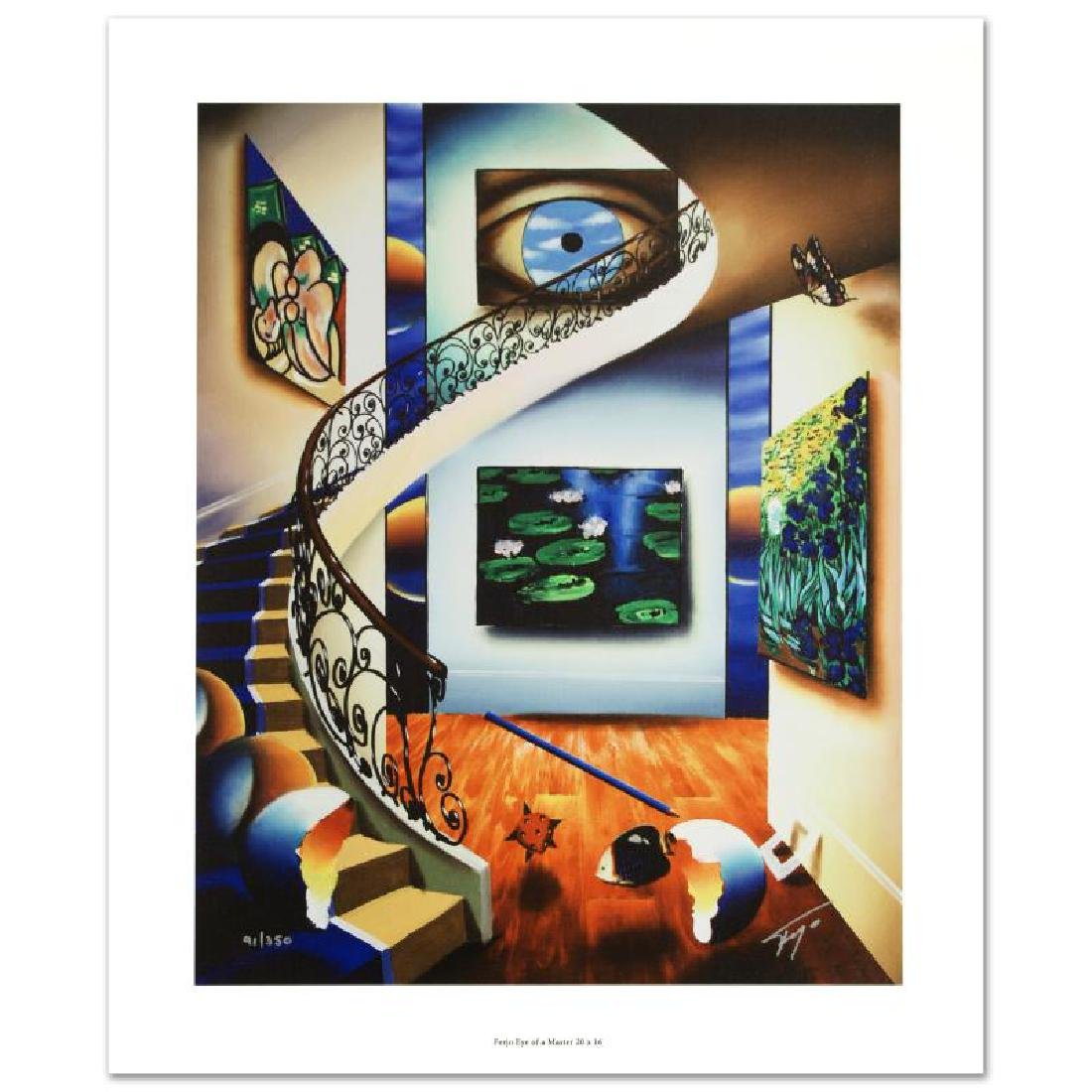 """""""Eye of a Master"""" Limited Edition Giclee on Canvas by"""