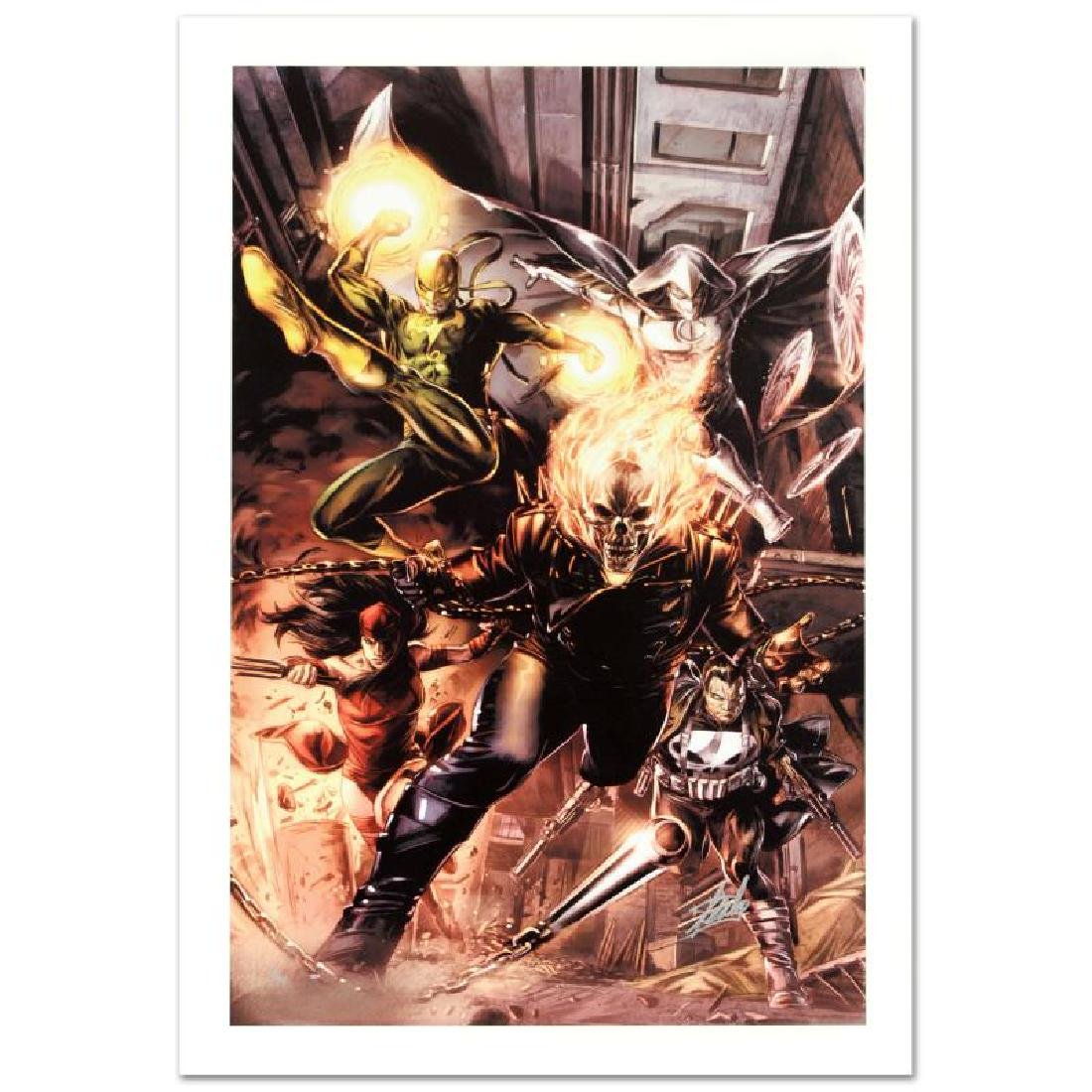 """""""Heroes For Hire #1"""" Limited Edition Giclee on Canvas"""