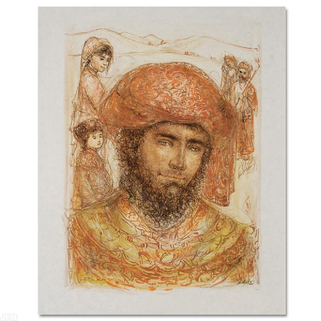 """""""Joshua at the Jordan"""" Limited Edition Lithograph by"""