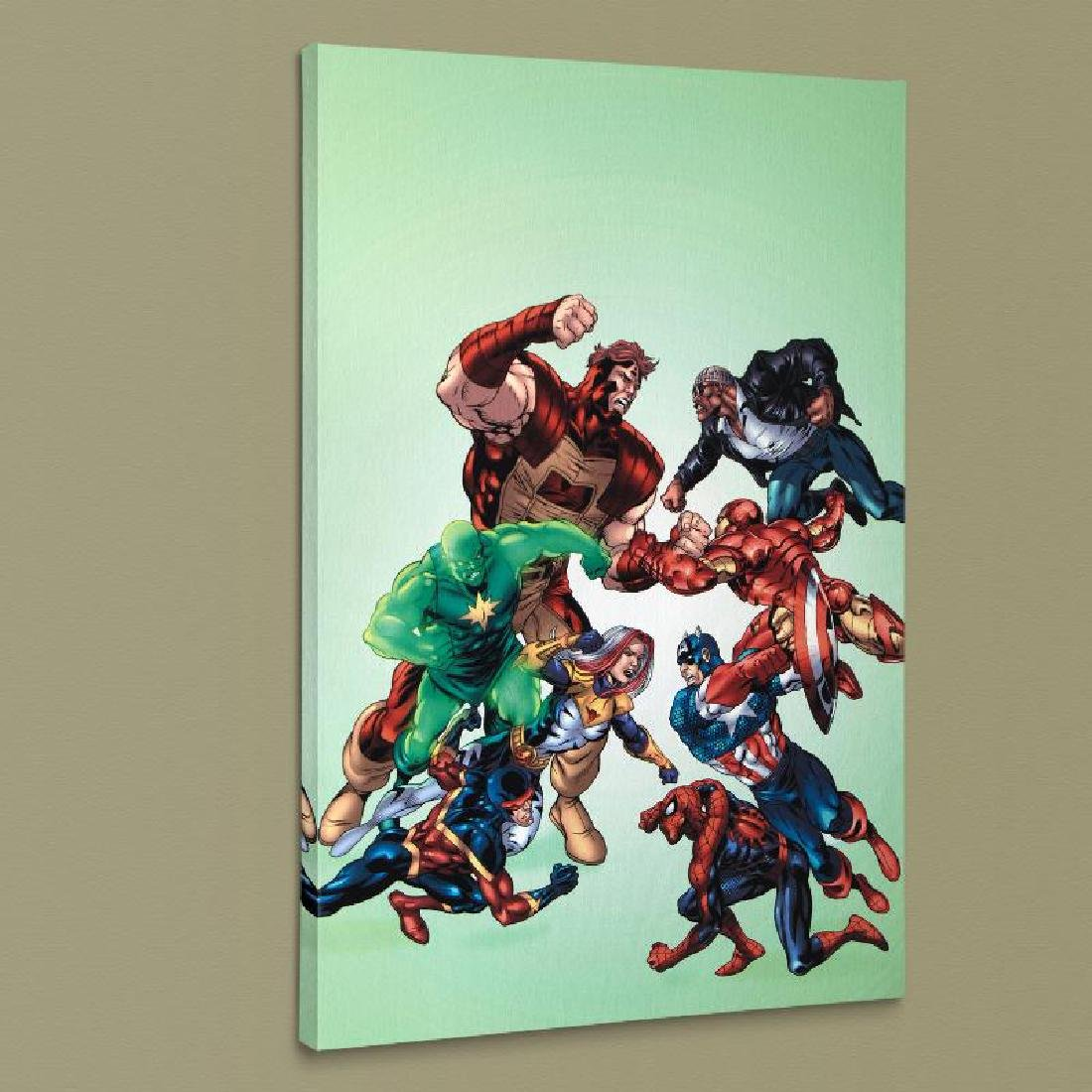"""""""New Thunderbolts #3"""" LIMITED EDITION Giclee on Canvas"""