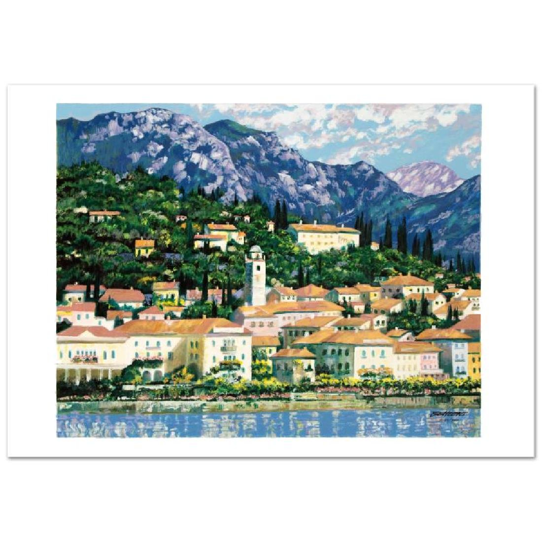 Bellagio Hillside Limited Edition Serigraph by Howard