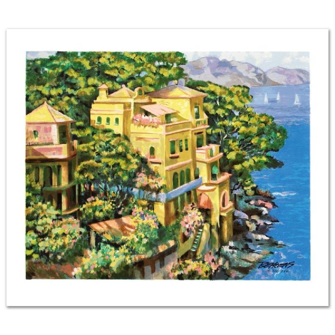 Villa Portofino Limited Edition Serigraph by Howard