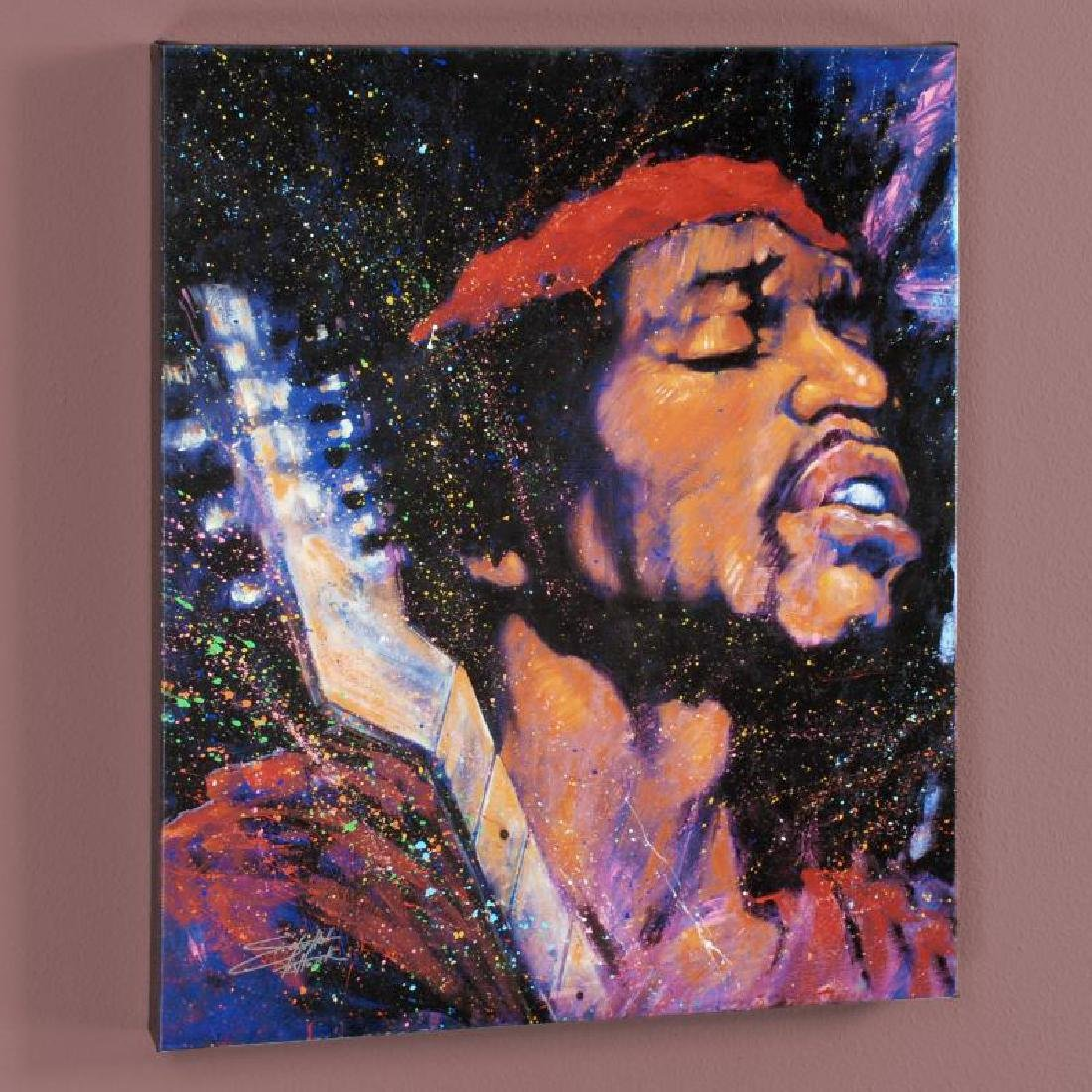 """Purple Haze"" LIMITED EDITION Giclee on Canvas by"