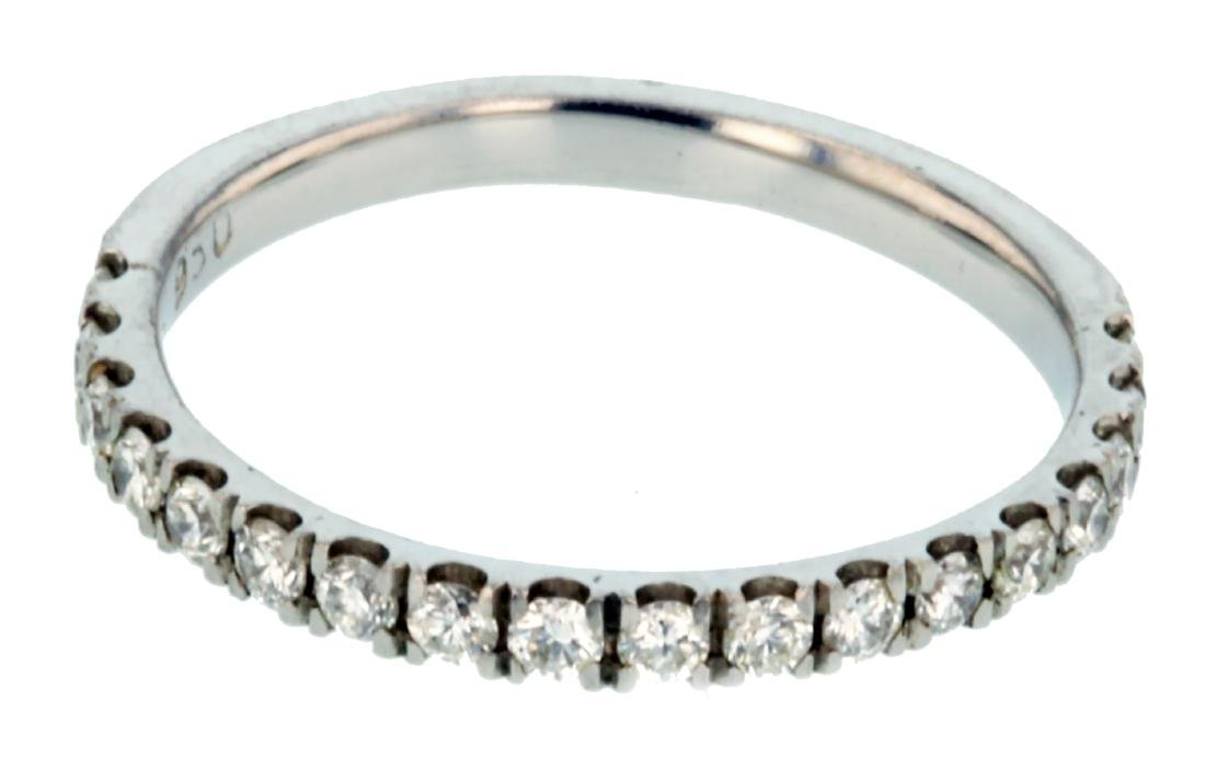 Platinum 0.40ctw Diamond Wedding Band Eternity Band