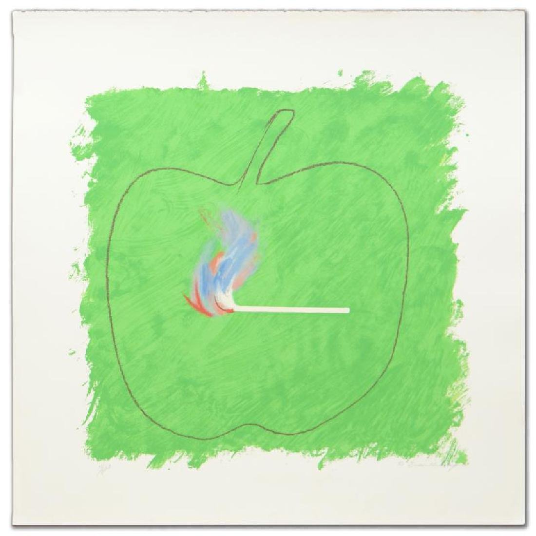 """""""Green Flame"""" Limited Edition Lithograph by Robert - 3"""