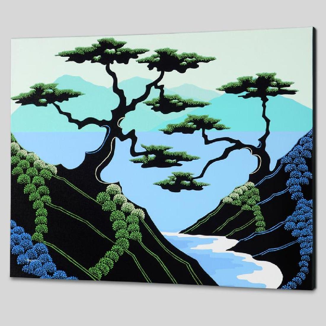 """""""Secret Cove"""" Limited Edition Giclee on Canvas by - 4"""