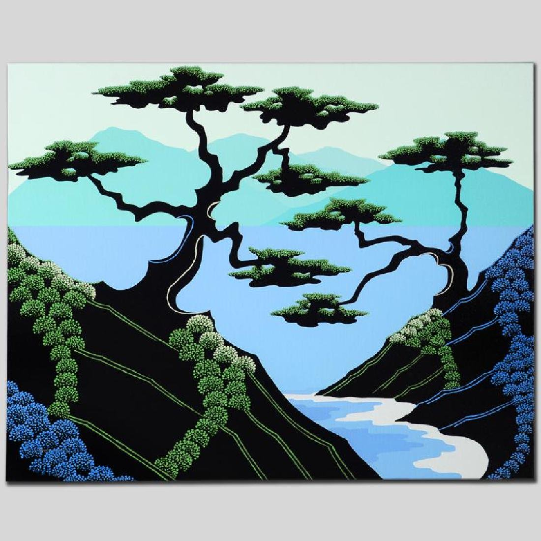 """""""Secret Cove"""" Limited Edition Giclee on Canvas by - 5"""