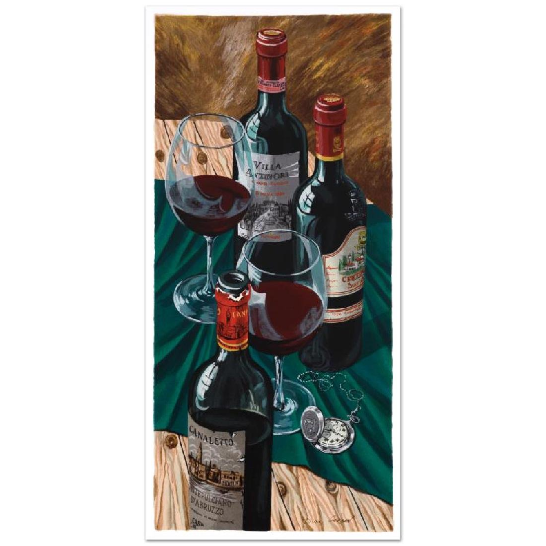 """""""Table for Two"""" Limited Edition Serigraph by Dima - 3"""