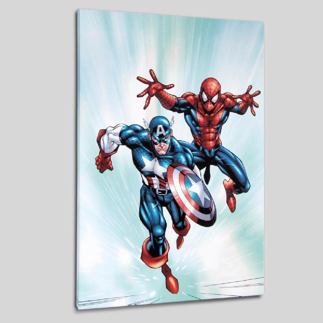 """Marvel Age Team Up #2"" LIMITED EDITION Giclee on"