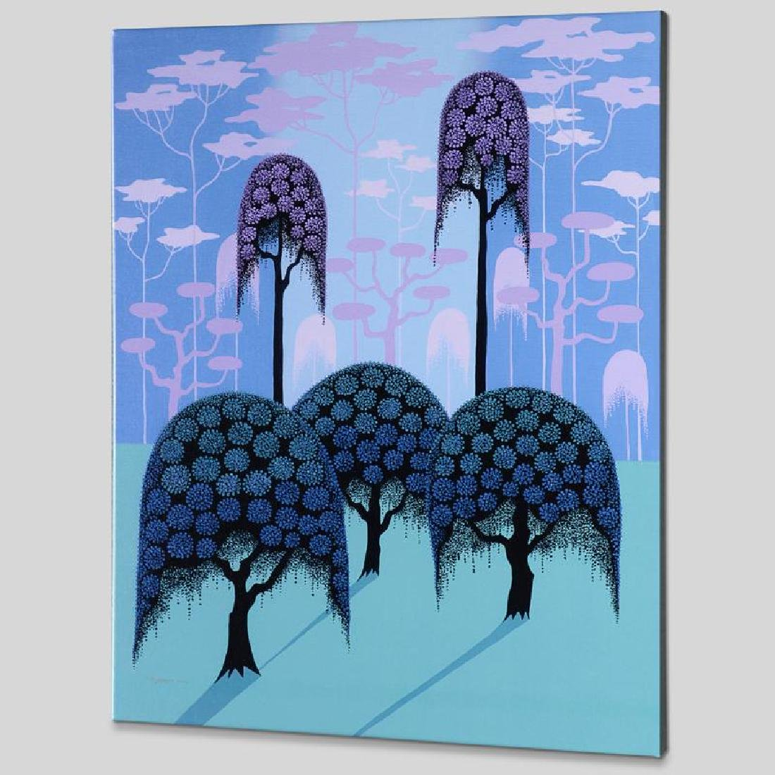 """""""Veiled Forest"""" Limited Edition Giclee on Canvas by - 4"""
