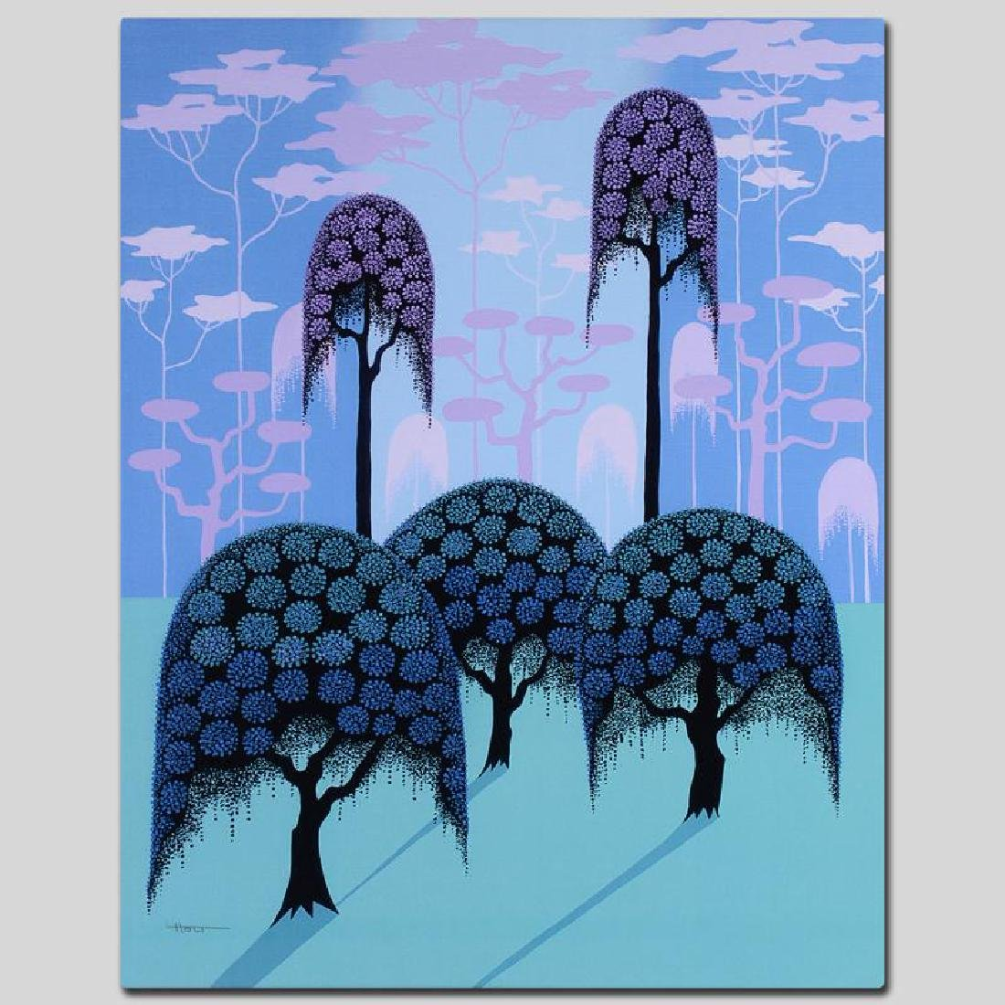 """""""Veiled Forest"""" Limited Edition Giclee on Canvas by - 5"""