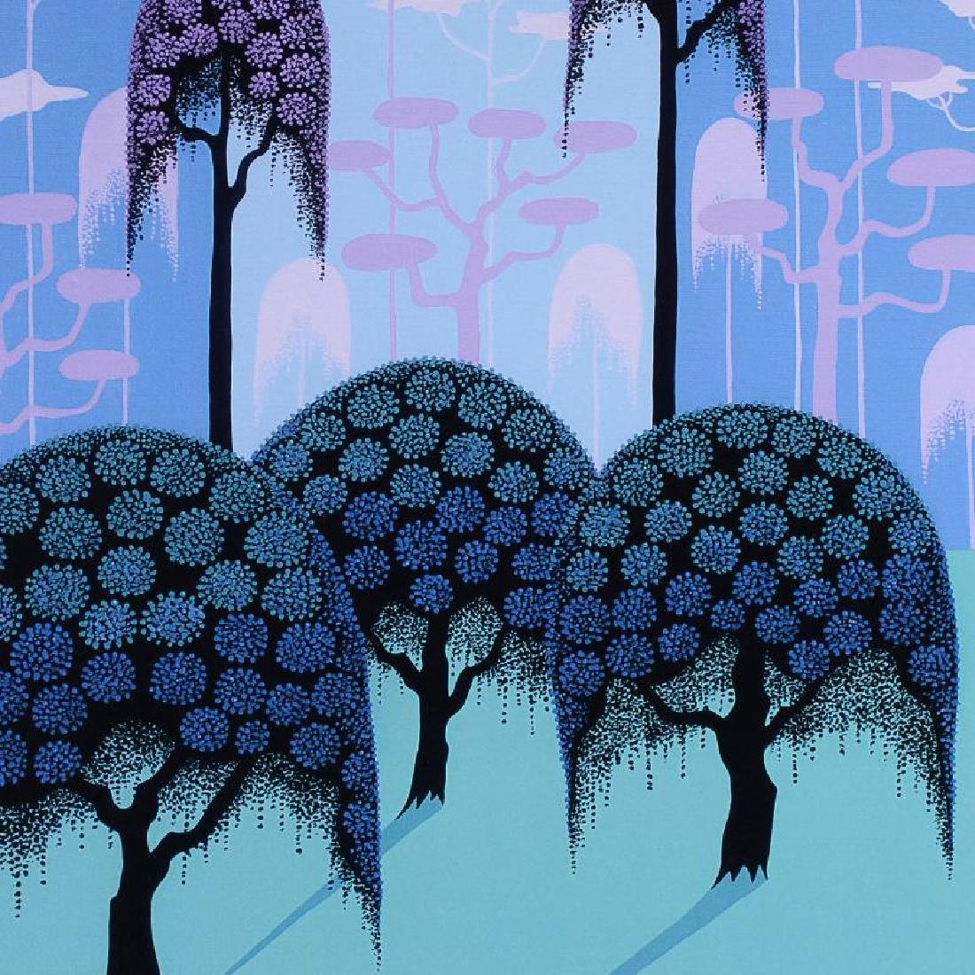 """""""Veiled Forest"""" Limited Edition Giclee on Canvas by - 6"""
