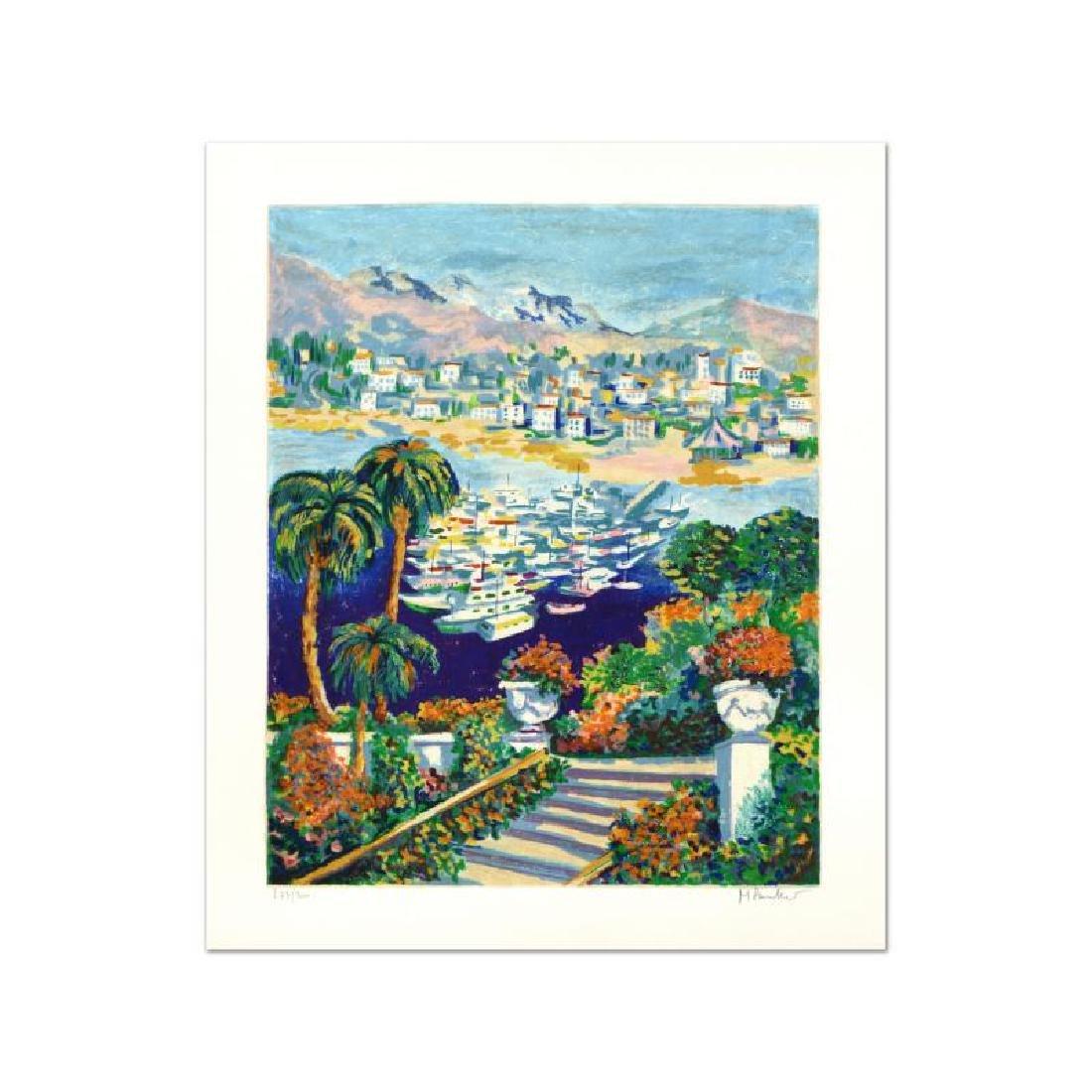 "Michael Pauker - ""Marina II"" Limited Edition Serigraph,"