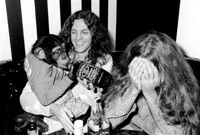 Lynyrd Skynyrd with Roller Skating Monkey with Jack  -