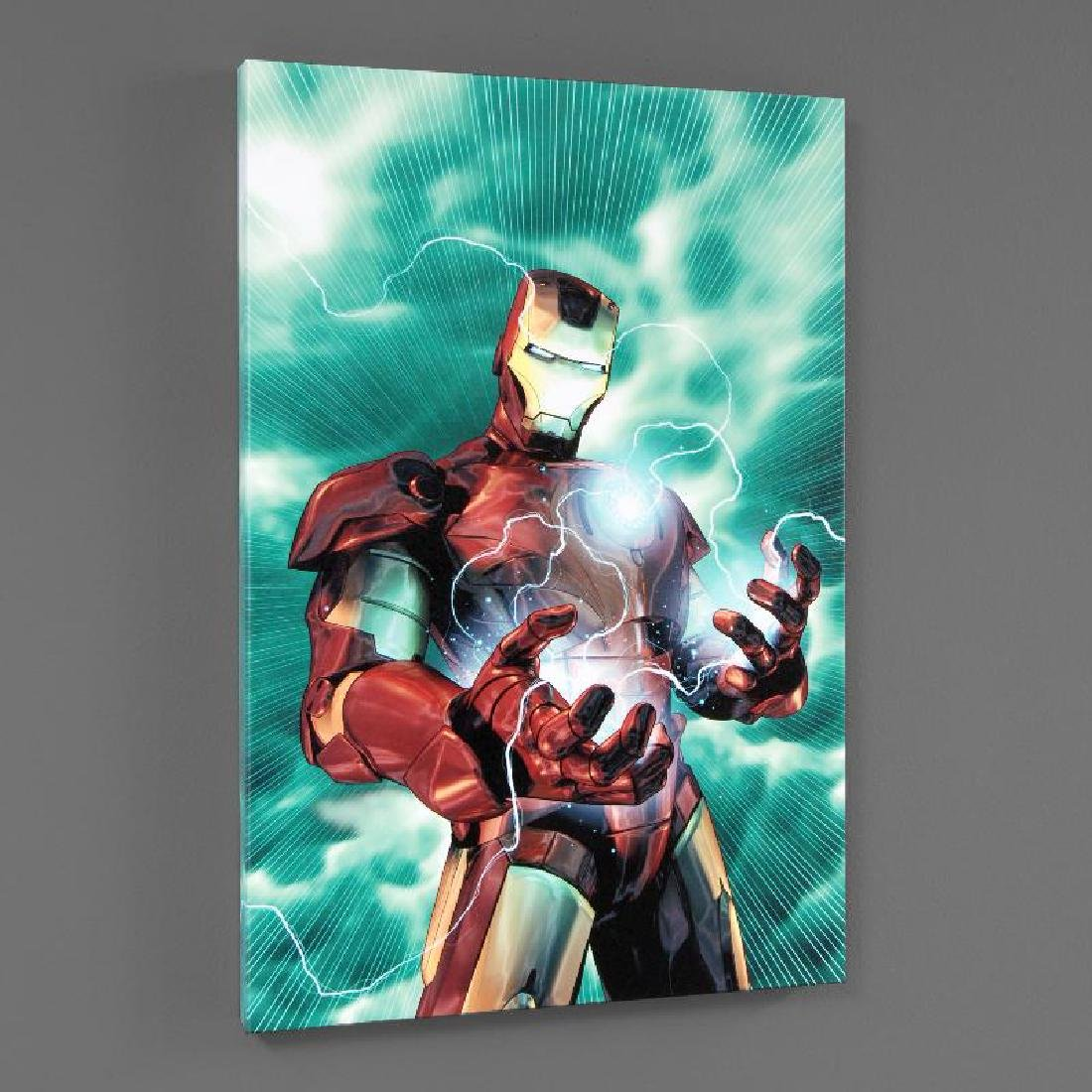 """""""Iron Man Legacy #2"""" Limited Edition Giclee on Canvas - 3"""