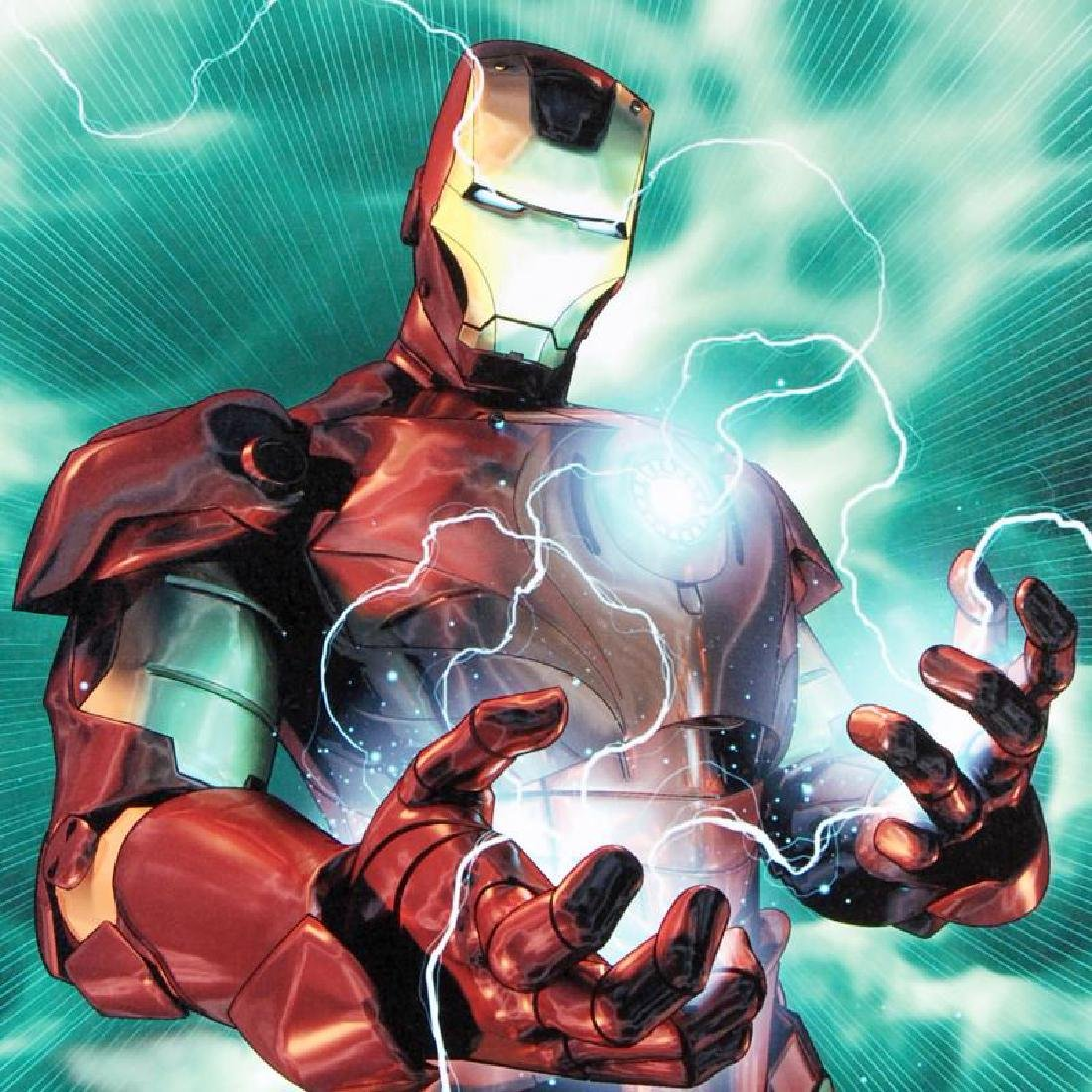 """""""Iron Man Legacy #2"""" Limited Edition Giclee on Canvas - 4"""