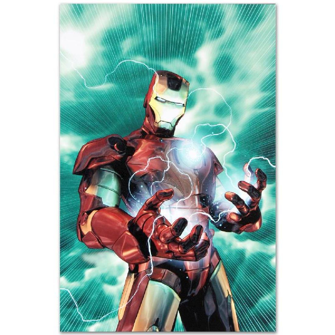 """""""Iron Man Legacy #2"""" Limited Edition Giclee on Canvas - 6"""