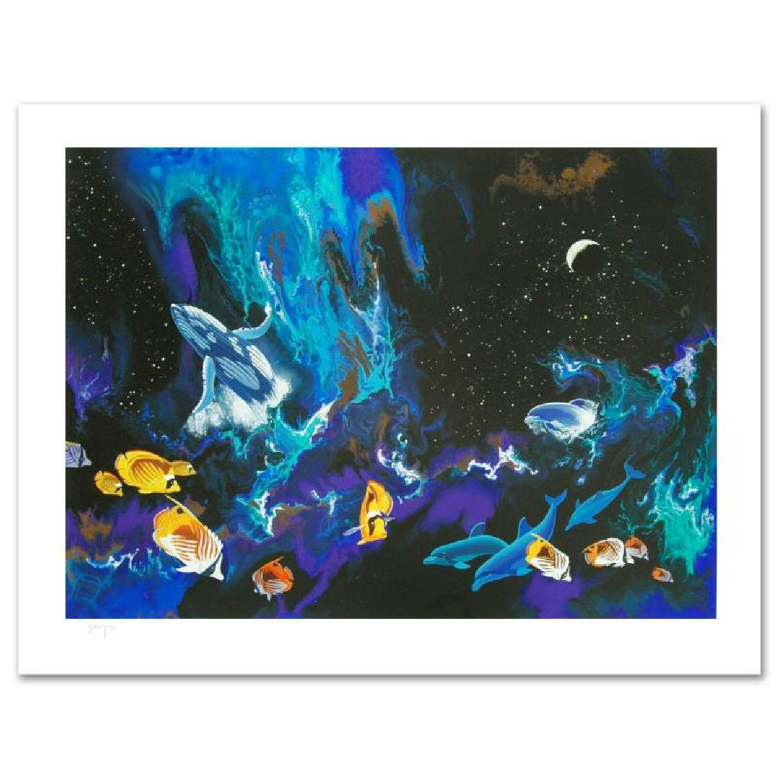 """""""Moondance"""" Limited Edition Serigraph by William"""