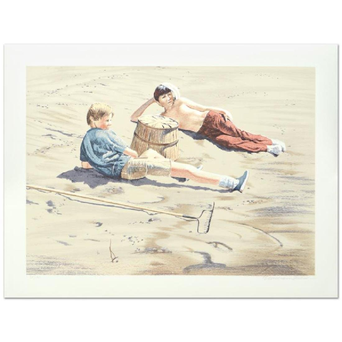 """William Nelson, """"The Beach Combers"""" Limited Edition"""