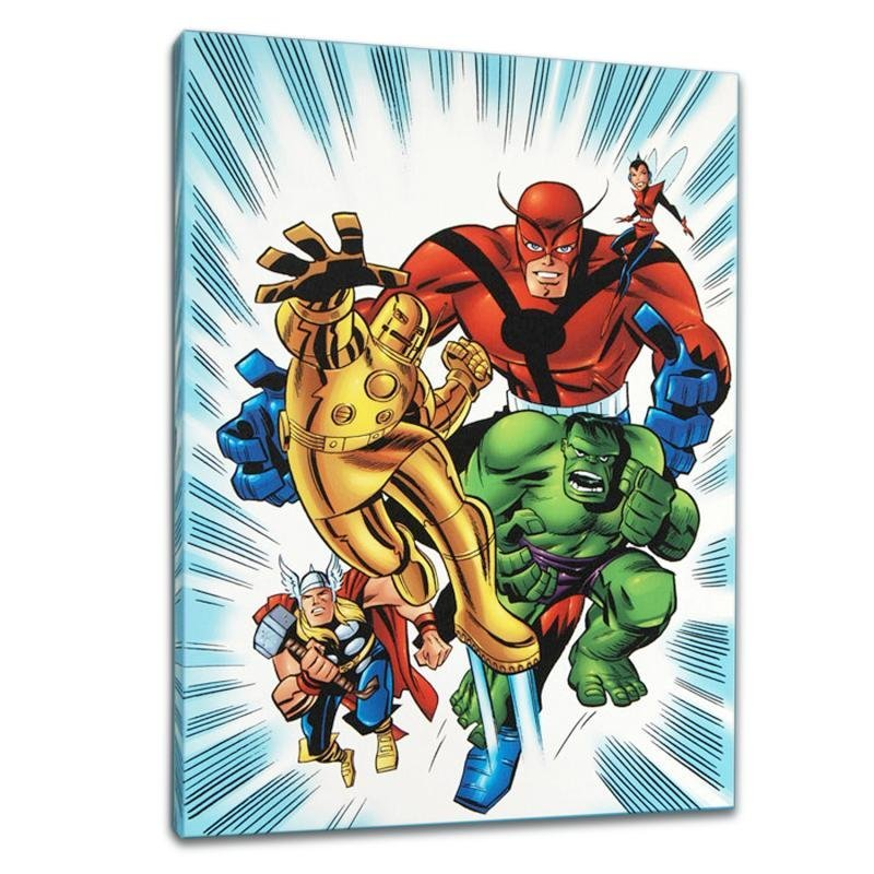 """""""Avengers #1 1/2"""" Limited Edition Giclee on Canvas by"""