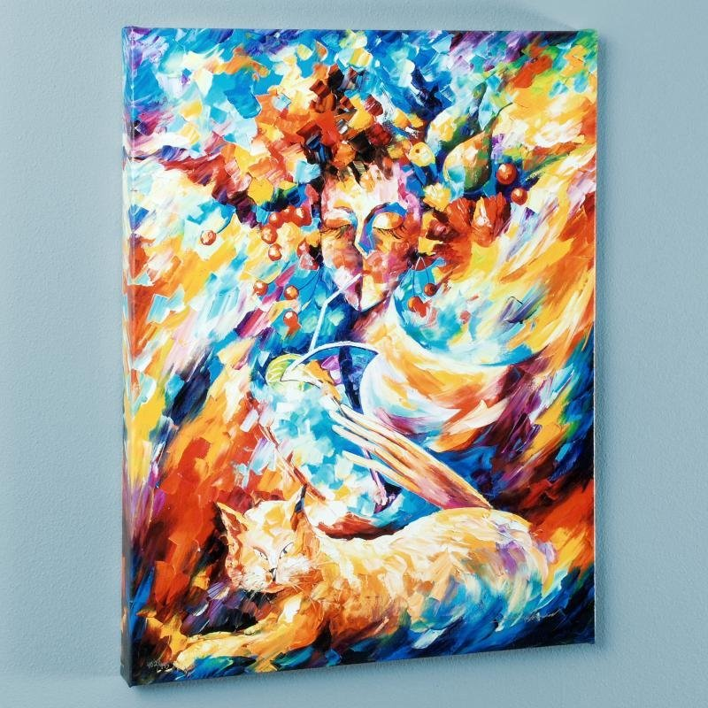 """""""Night Cap"""" LIMITED EDITION Giclee on Canvas by Leonid"""