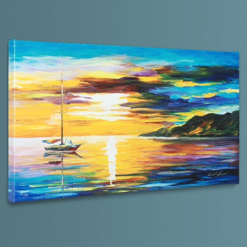 """""""Sunset"""" LIMITED EDITION Giclee on Canvas by Leonid"""