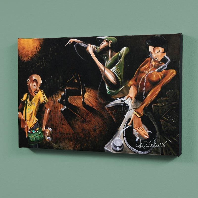 """""""The Get Down"""" LIMITED EDITION Giclee on Canvas (36"""" x"""