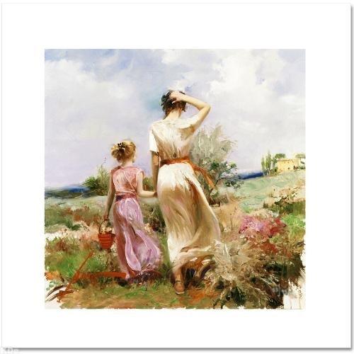 """Tuscan Stroll"" LIMITED EDITION Artist-Embellished"
