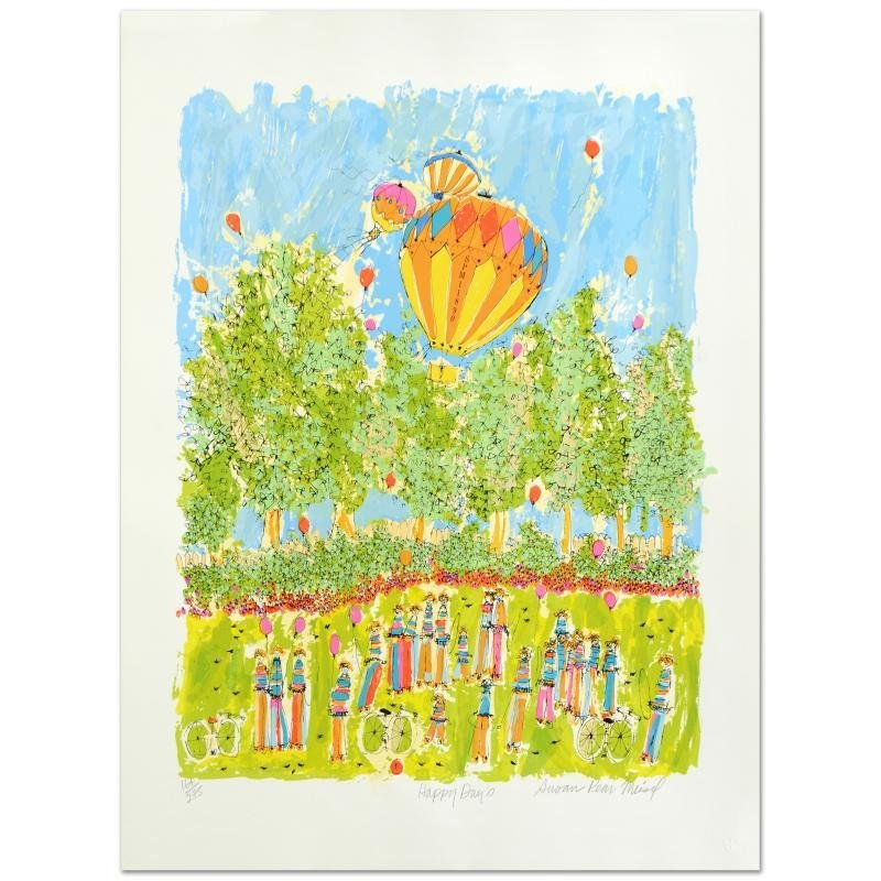 """""""Happy Days"""" Limited Edition Serigraph by Susan Pear"""