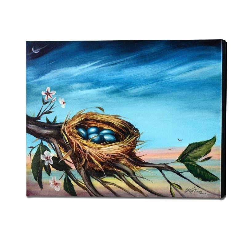 """""""Life Begins"""" Limited Edition Giclee on Gallery Wrapped"""
