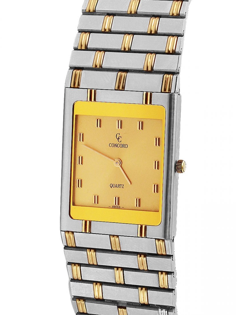 Concord 18KT Gold and Steel Men's Dress Watch Ref: