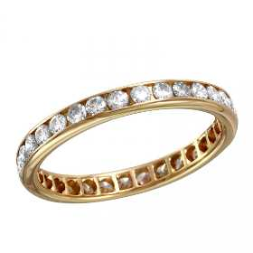 14kt Yellow Gold Eternity Ring