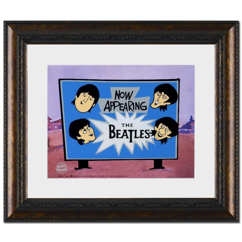 Now Appearing: The Beatles! Limited Edition Sericel