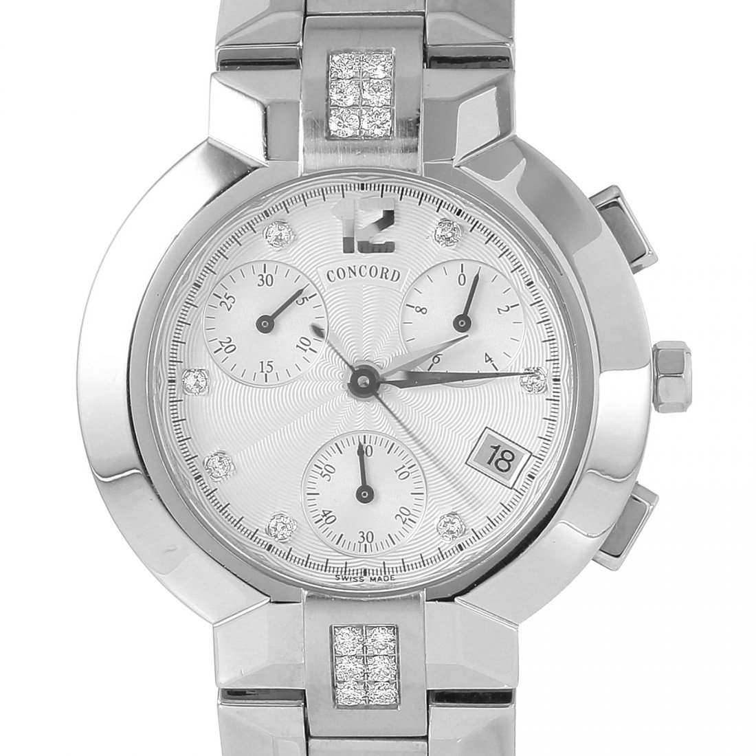 Concord La Scala Gents Diamond Watch