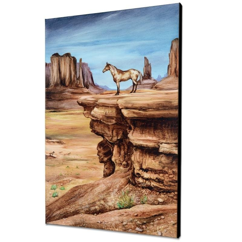 """""""The Lookout"""" Limited Edition Giclee on Canvas by"""