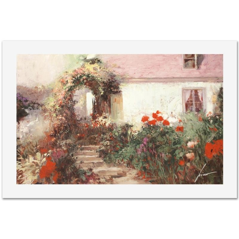 """""""Colorful Archway"""" Limited Edition Giclee by Pino"""