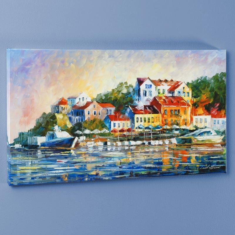 """""""Mediterranean Noon"""" LIMITED EDITION Giclee on Canvas"""