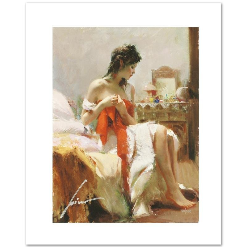 """""""Expectations"""" Limited Edition Giclee on Canvas by Pino"""