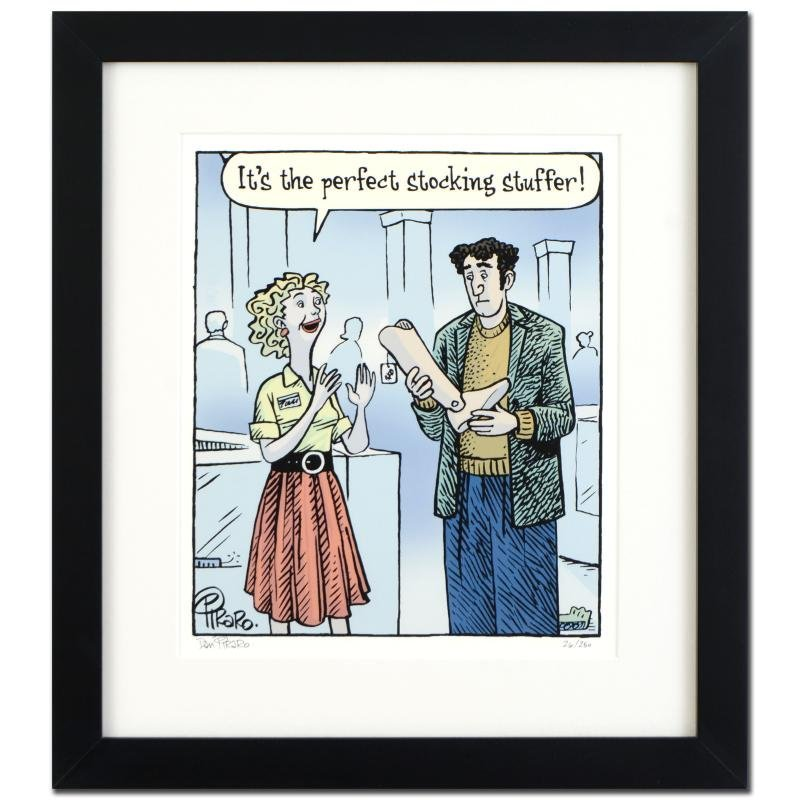 "Bizarro! ""Stocking Stuffer"" is a Framed Limited Edition"