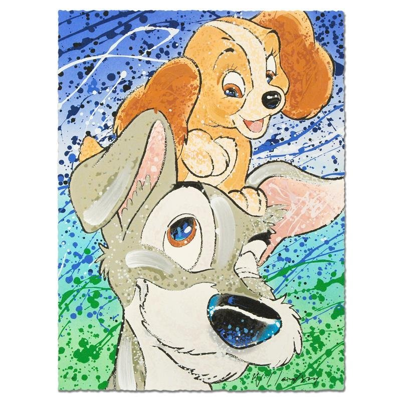 """Hair of the Dog"" Disney Limited Edition Serigraph by"