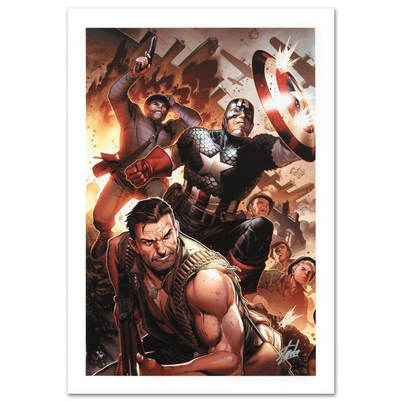 """""""Secret Warriors #17"""" Limited Edition Giclee on Canvas"""