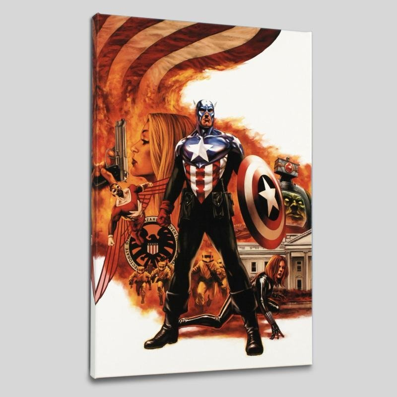 """Captain America #41"" LIMITED EDITION Giclee on Canvas"
